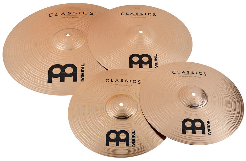 meinl classics cymbal set thomann uk. Black Bedroom Furniture Sets. Home Design Ideas
