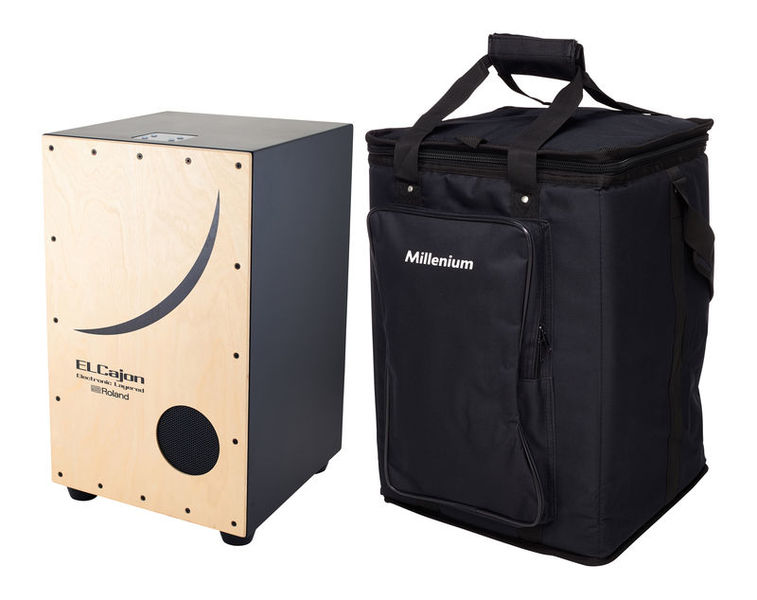 Roland EC-10 EL Cajon & Bag Set