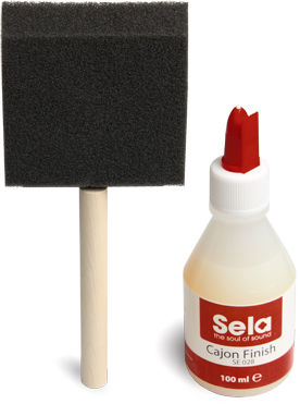 Sela SE 028 Cajon Finish Set