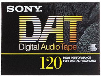 Sony DT-120 RA DAT Tape