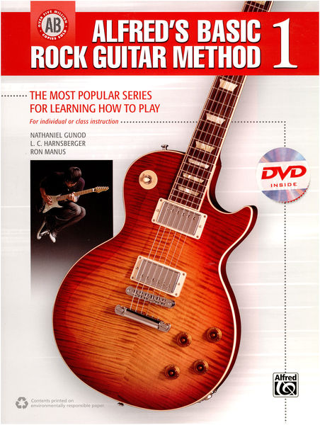 Alfred Music Publishing Alfred´s Basic Rock Guitar 1