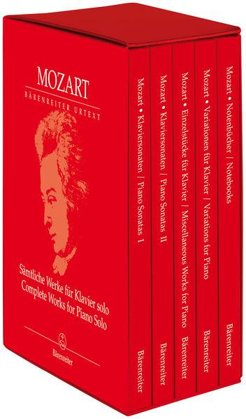 Bärenreiter Mozart Complete Works Piano