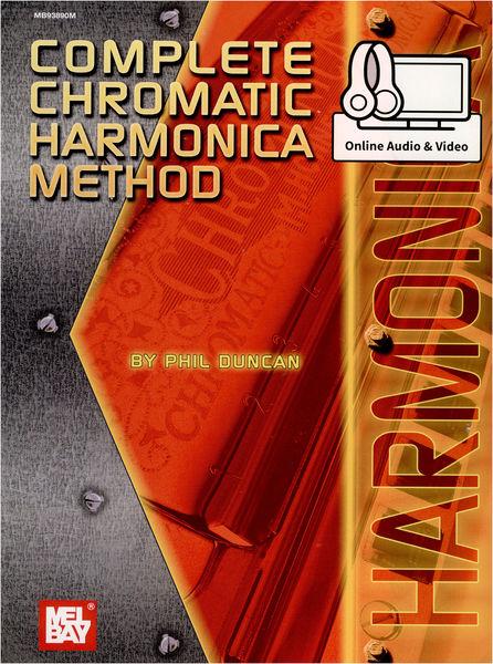 Mel Bay Complete Chromatic Harmonica