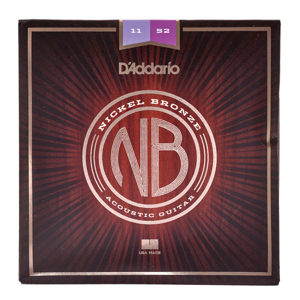 Daddario NB1152 Nickel Bronze Set