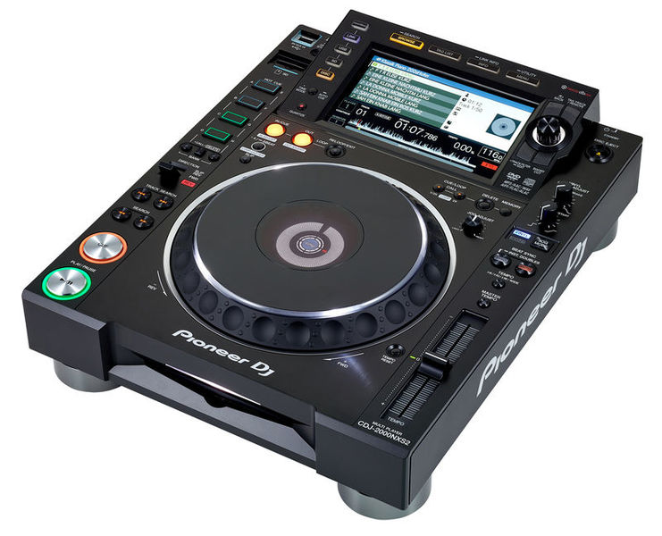 Pioneer cdj 2000 nxs2 on dj lighting