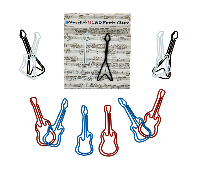 A-Gift-Republic Paper Clip E-Guitar Set 2