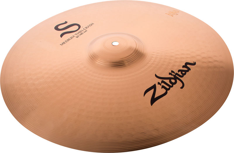 "Zildjian 16"" S Series Medium Thin Crash"