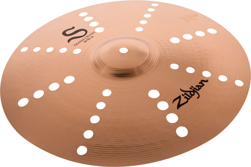 "Zildjian 18"" S Series Trash Crash"