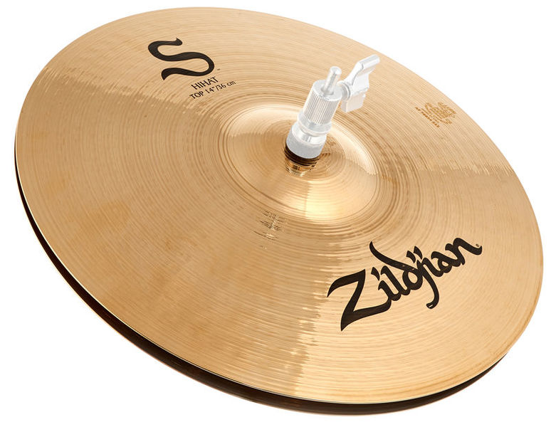 "Zildjian 14"" S Series Medium Hi-Hat"