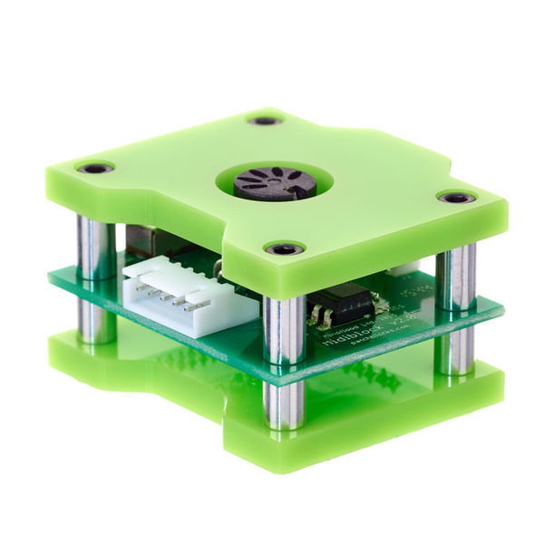 Patchblocks Midiblock green with white pcb