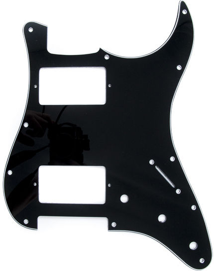 Fender Pickguard HH Black