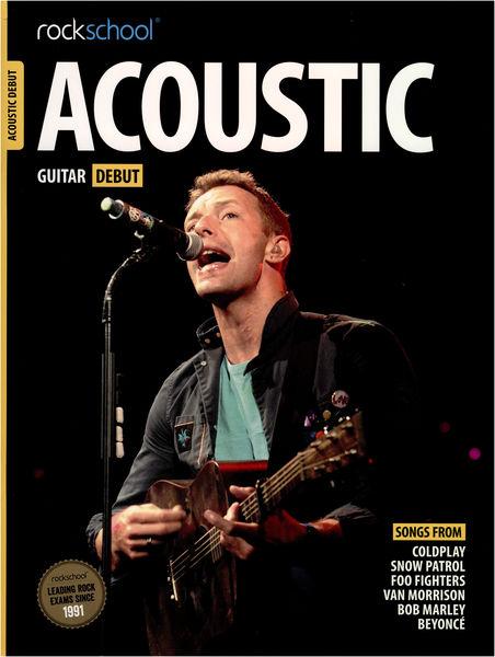 Music Sales Rockschool Acoustic Guit. Deb.