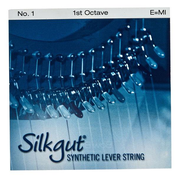 Bow Brand Silkgut 1st E Harp String No.1