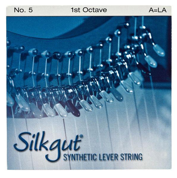 Bow Brand Silkgut 1st A Harp String No.5