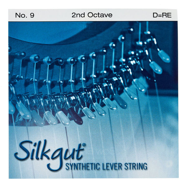 Bow Brand Silkgut 2nd D Harp String No.9