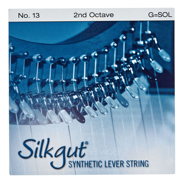 Bow Brand Silkgut 2nd G Harp Str. No.13