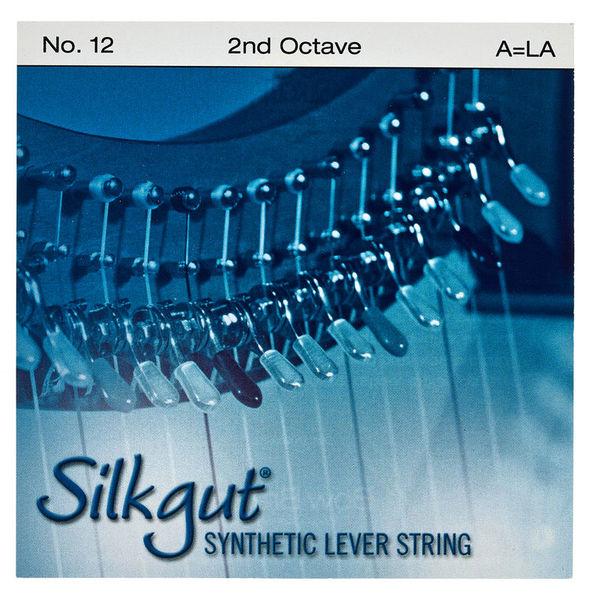 Bow Brand Silkgut 2nd A Harp Str. No.12