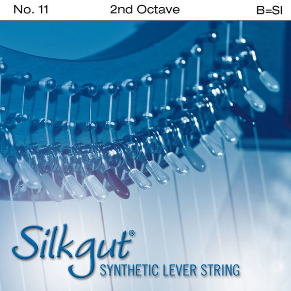 Bow Brand Silkgut 2nd B Harp Str. No.11