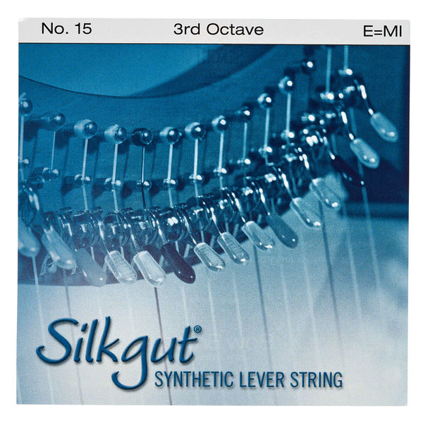 Bow Brand Silkgut 3rd E Harp Str. No.15