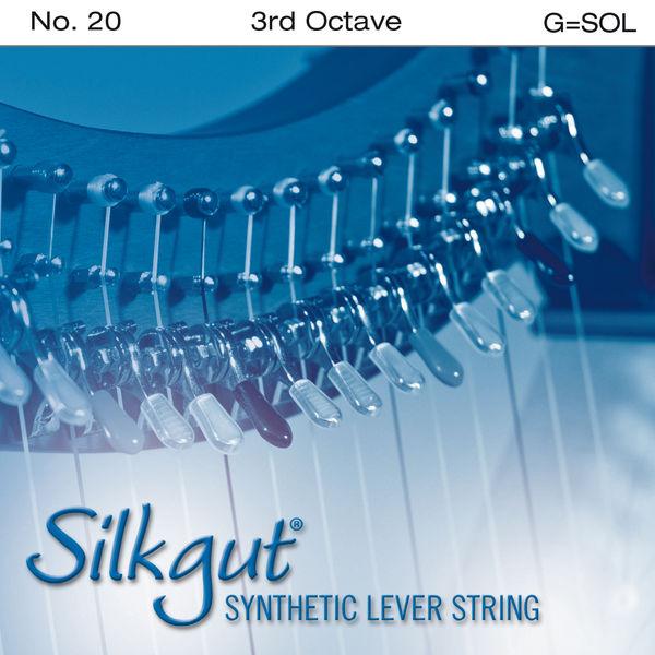 Bow Brand Silkgut 3rd G Harp Str. No.20