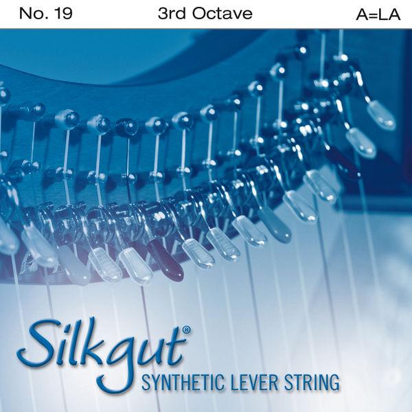 Bow Brand Silkgut 3rd A Harp Str. No.19