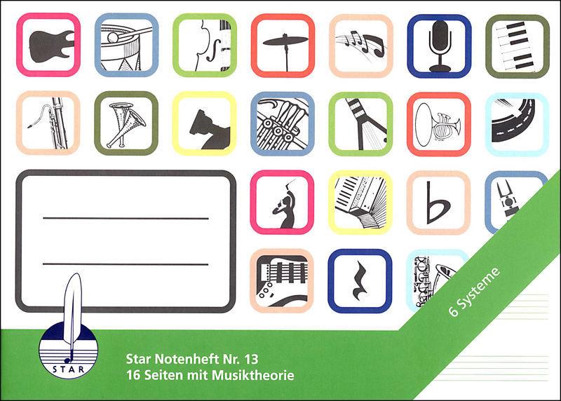 Star Notebook 13