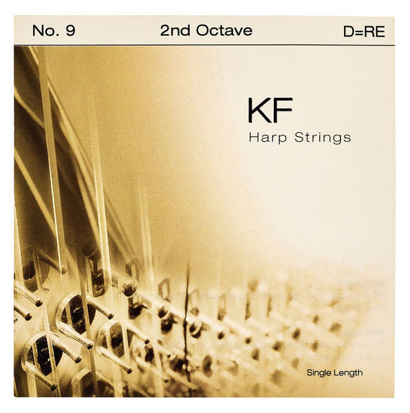 Bow Brand KF 2nd D Harp String No.9
