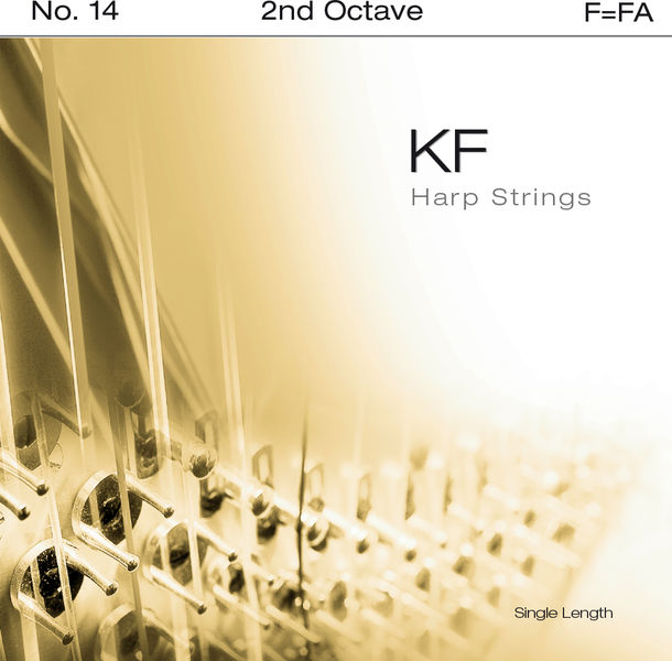 Bow Brand KF 2nd F Harp String No.14