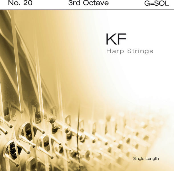 Bow Brand KF 3rd G Harp String No.20