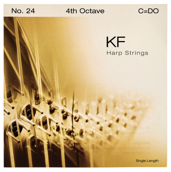 Bow Brand KF 4th C Harp String Nr 24