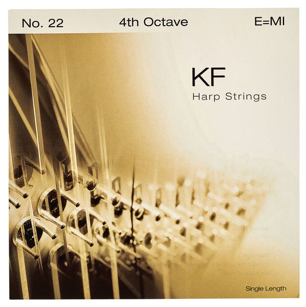 Bow Brand KF 4th E Harp String No.22