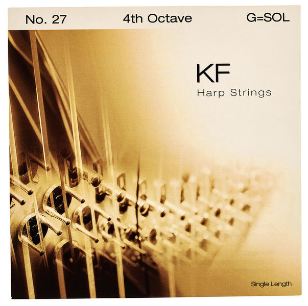 Bow Brand KF 4th G Harp String No.27