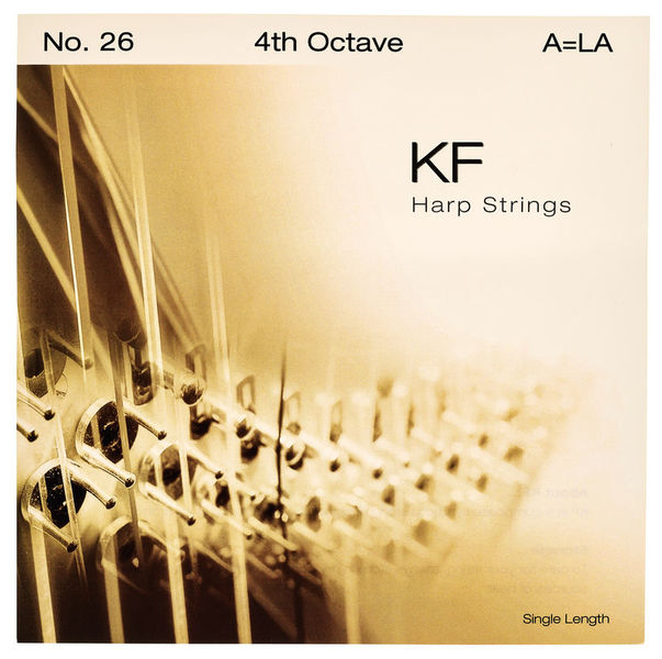 Bow Brand KF 4th A Harp String No.26
