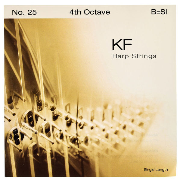Bow Brand KF 4th B Harp String No.25