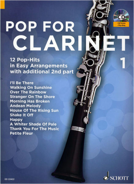 Schott Pop For Clarinet Vol.1