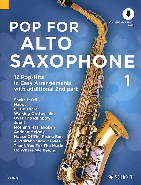 Schott Pop For A-Sax Vol.1