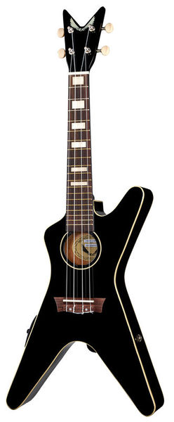 Dean Guitars Ukulele ML CBK w/ Preamp