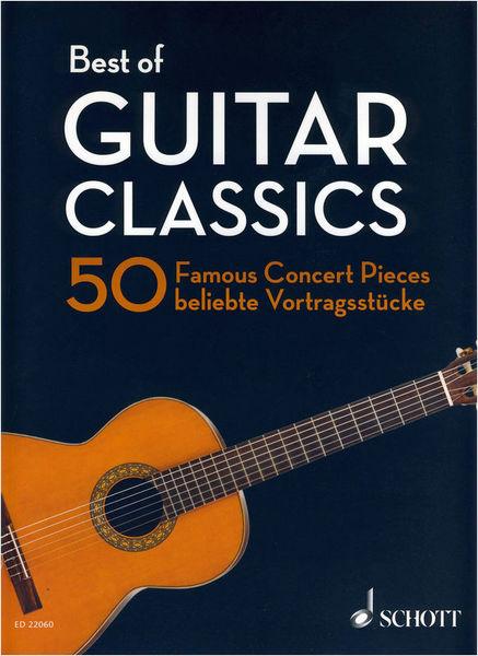 Best Of Guitar Classics Schott