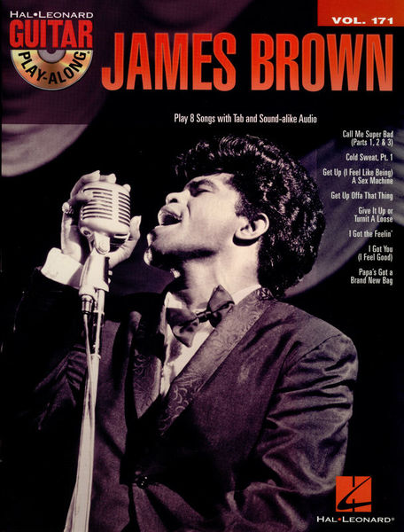 Hal Leonard Guitar Play Along James Brown