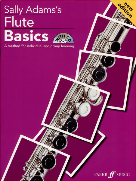 Faber Music Sally Adam´s Flute Basics