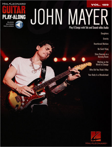 Hal Leonard Guitar Play-Along John Mayer