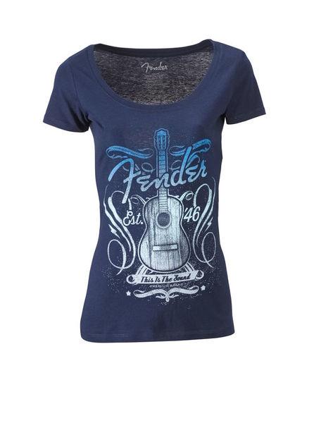 Fender T-Shirt Ladies Sound L