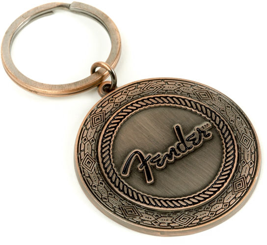 Fender Key Chain Old West