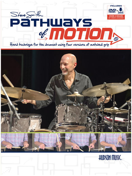 Hudson Music Steve Smith Pathways of Motion
