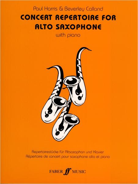 Faber Music Concert Repertoire for Altosax