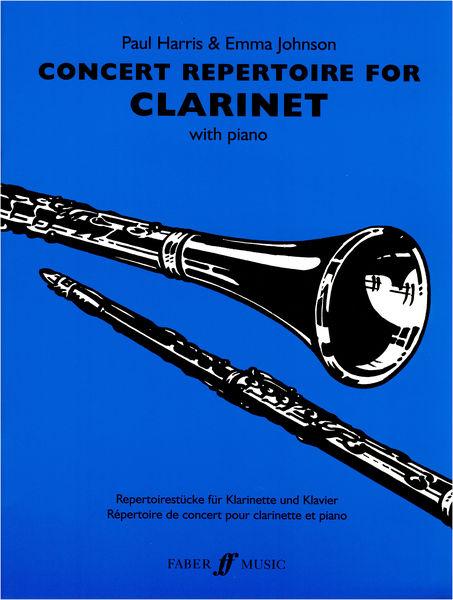 Faber Music Concert Repertoire f. Clarinet