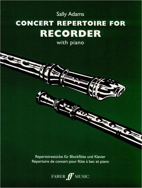 Faber Music Concert Repertoire f. Recorder