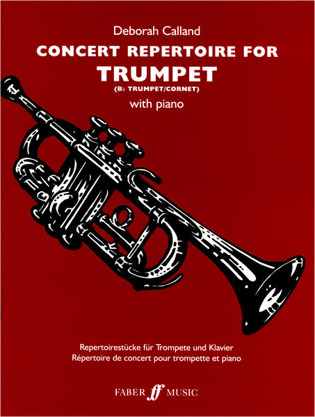 Faber Music Concert Repertoire for Trumpet