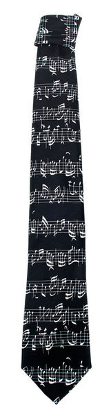 Musikboutique Hahn Tie Sheet Music Bach Black