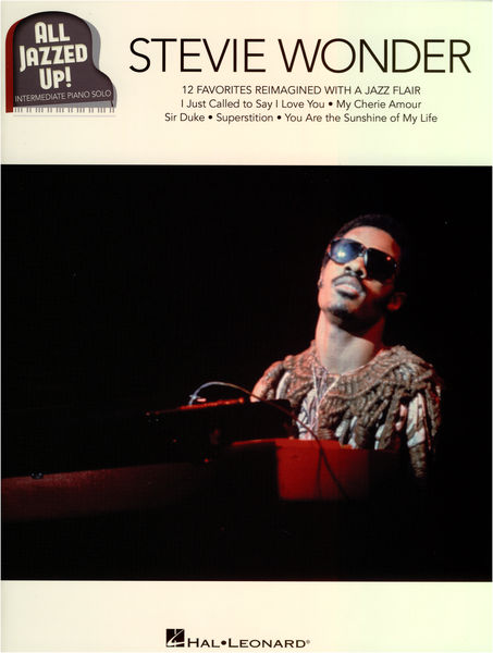 Hal Leonard All Jazzed Up Stevie Wonder
